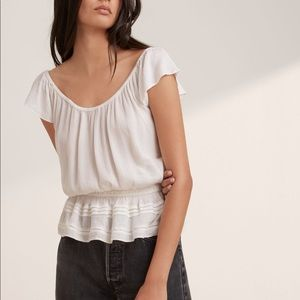 NWT ARITZIA / TALULA / TEMPLIN BLOUSE SZ MEDIUM